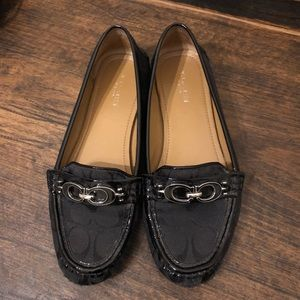 Coach Fortunata loafers size 7